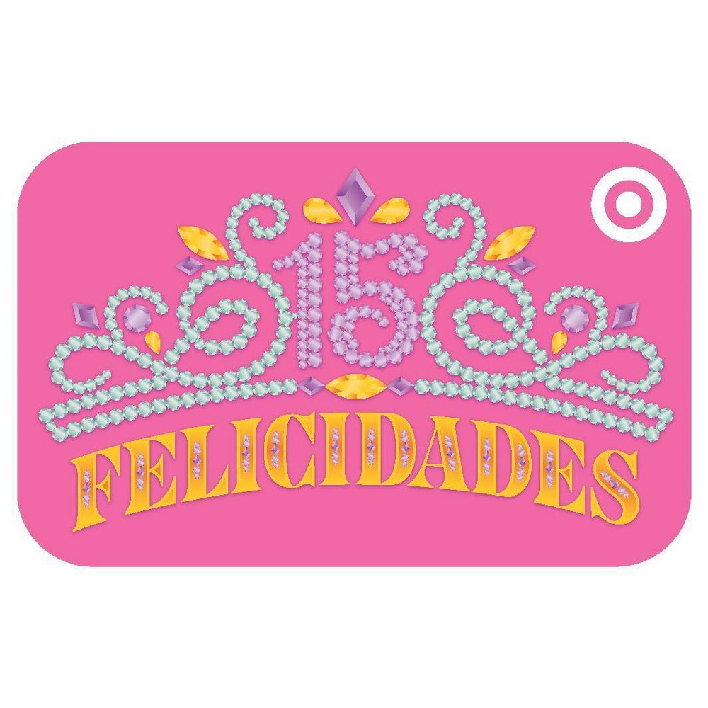 Quinceanera GiftCard $20, Target GiftCards Quinceanera GiftCard $20, Target GiftCards Gender: unisex.