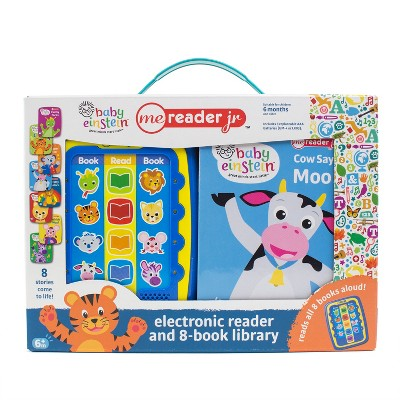 Baby Einstein Electronic Me Reader Jr Story Reader and 8-book Boxed Set