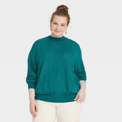 Women's Rib-Knit Sweatshirt - Universal Thread™
