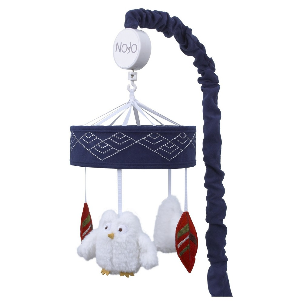 Image of NoJo Musical Mobile - Teepee, Blue