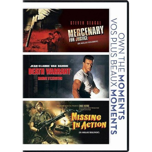 Mercenary for Justice / Death Warrant / Missing in Action (DVD) - image 1 of 1