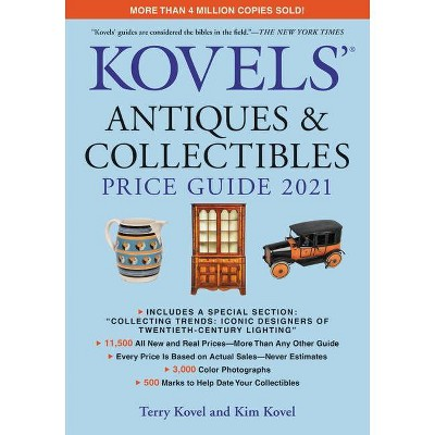 Kovels' Antiques and Collectibles Price Guide 2021 - by  Terry Kovel & Kim Kovel (Paperback)