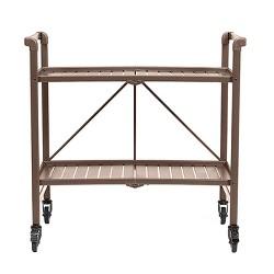 Indoor/Outdoor Folding Serving Cart - Cosco