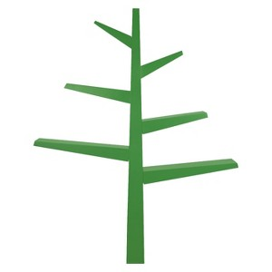 Babyletto Spruce Tree Bookcase - Green