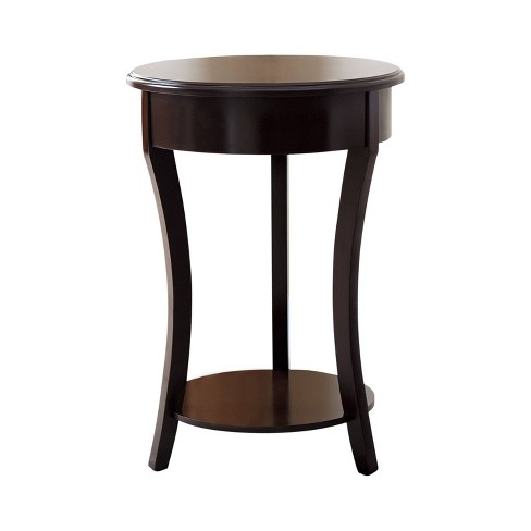 Taylor Wood End Table - Espresso - Abbyson Living - image 1 of 4