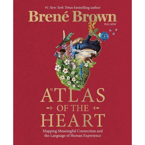 Atlas of The Heart - by Brene Brown (Hardcover) - image 1 of 1