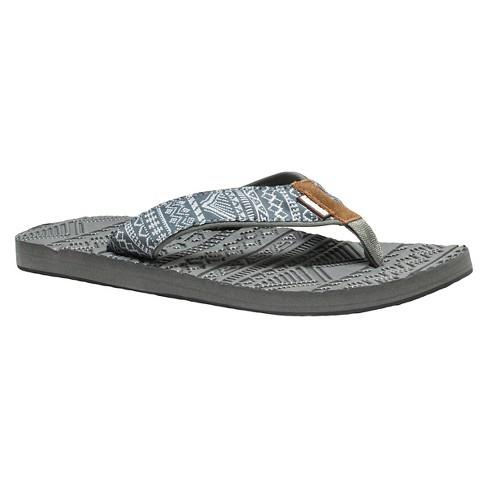 f7dfaa5a6e96 Men s MUK LUKS® Scotty Flip Flop Sandals - Gra   Target