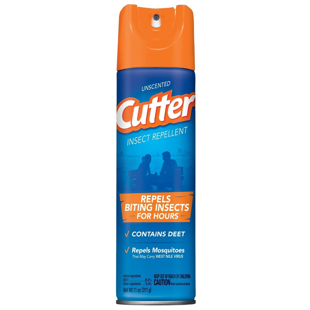 Image of Cutter 11oz Unscented Insect Repellent