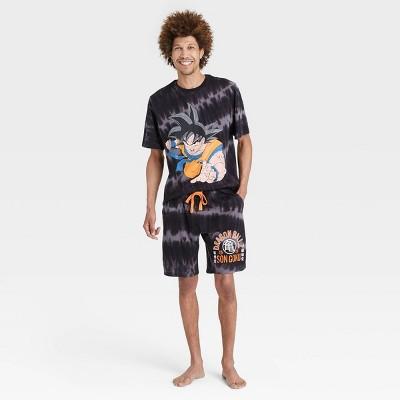 Men's Dragon Ball Z Pajama Set - Black