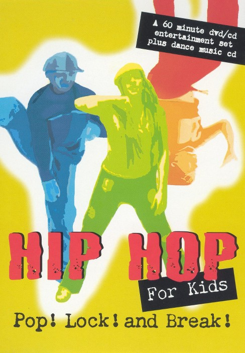 Hip Hop For Kids:Pop Lock And Break (DVD) - image 1 of 1
