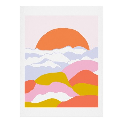 SunshineCanteen Sunshine Above the Clouds Art Print - Society6