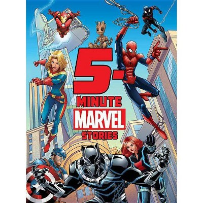 5-Minute Marvel Stories -  by Brandon T. Snider & Andy Schmidt & Calliope Glass (Hardcover)