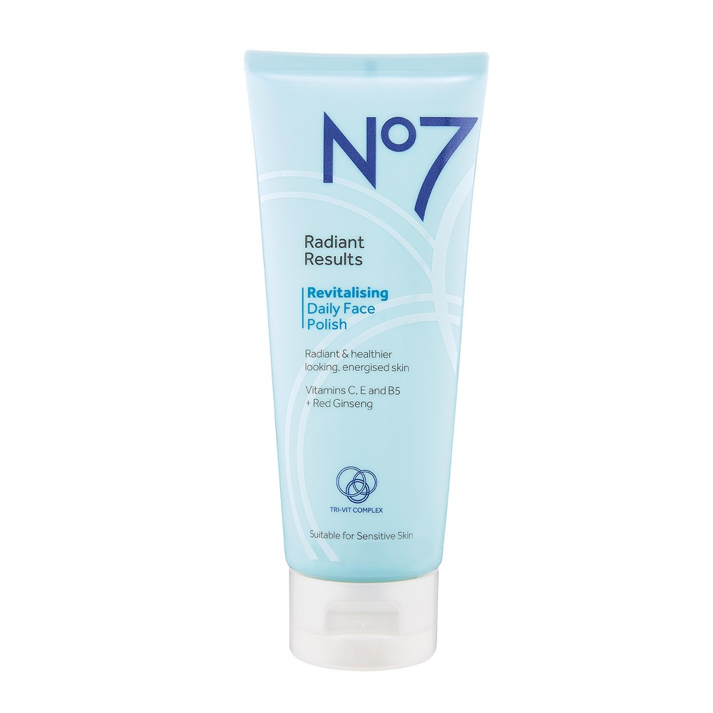 No7 Radiant Results Revitalising Daily Face Polish - 3.3oz