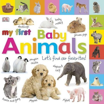 Tabbed Board Books: My First Baby Animals - (Board_book)