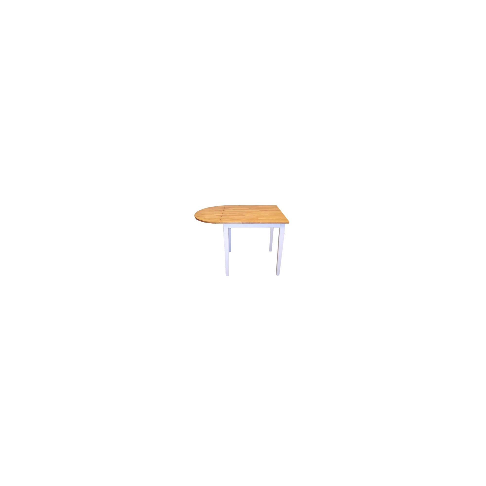 Tiffany Drop-Leaf Table Wood/Natural/White - TMS