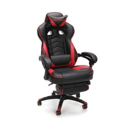 Reclining Gaming Chair with Footrest Red - RESPAWN