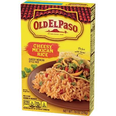 Old El Paso Cheesy Mexican Rice 7.6oz