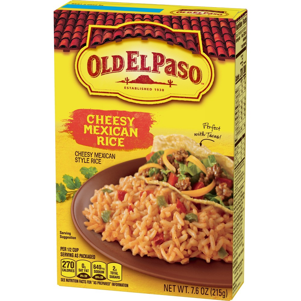 Old El Paso Cheesy Mexican Rice 7.6 oz