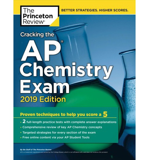 Princeton Review Cracking the AP Chemistry Exam 2019 -  (Paperback) - image 1 of 1