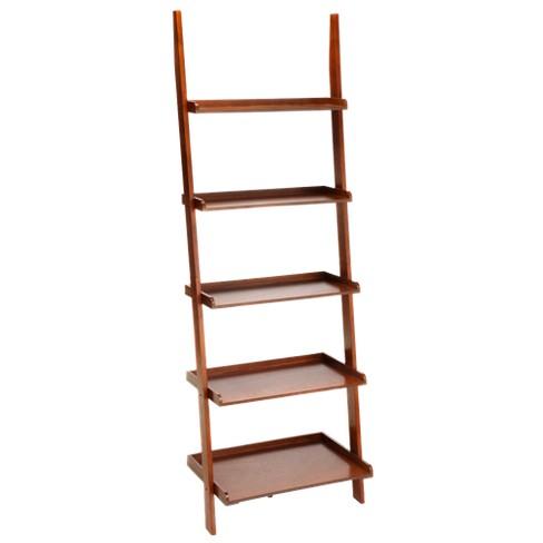 72 Ladder Bookcase Cherry