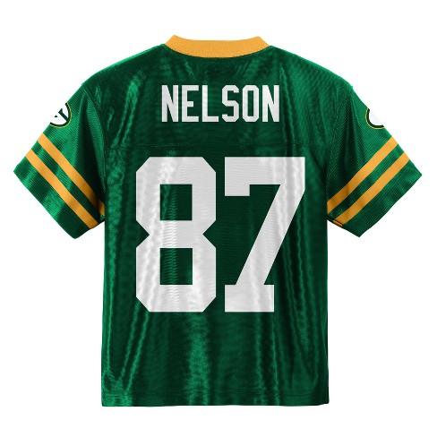 huge discount 58290 c38c3 Green Bay Packers Boys' Jordy Nelson Jersey - XL