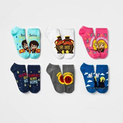 Kids' Harry Potter 6pk Socks