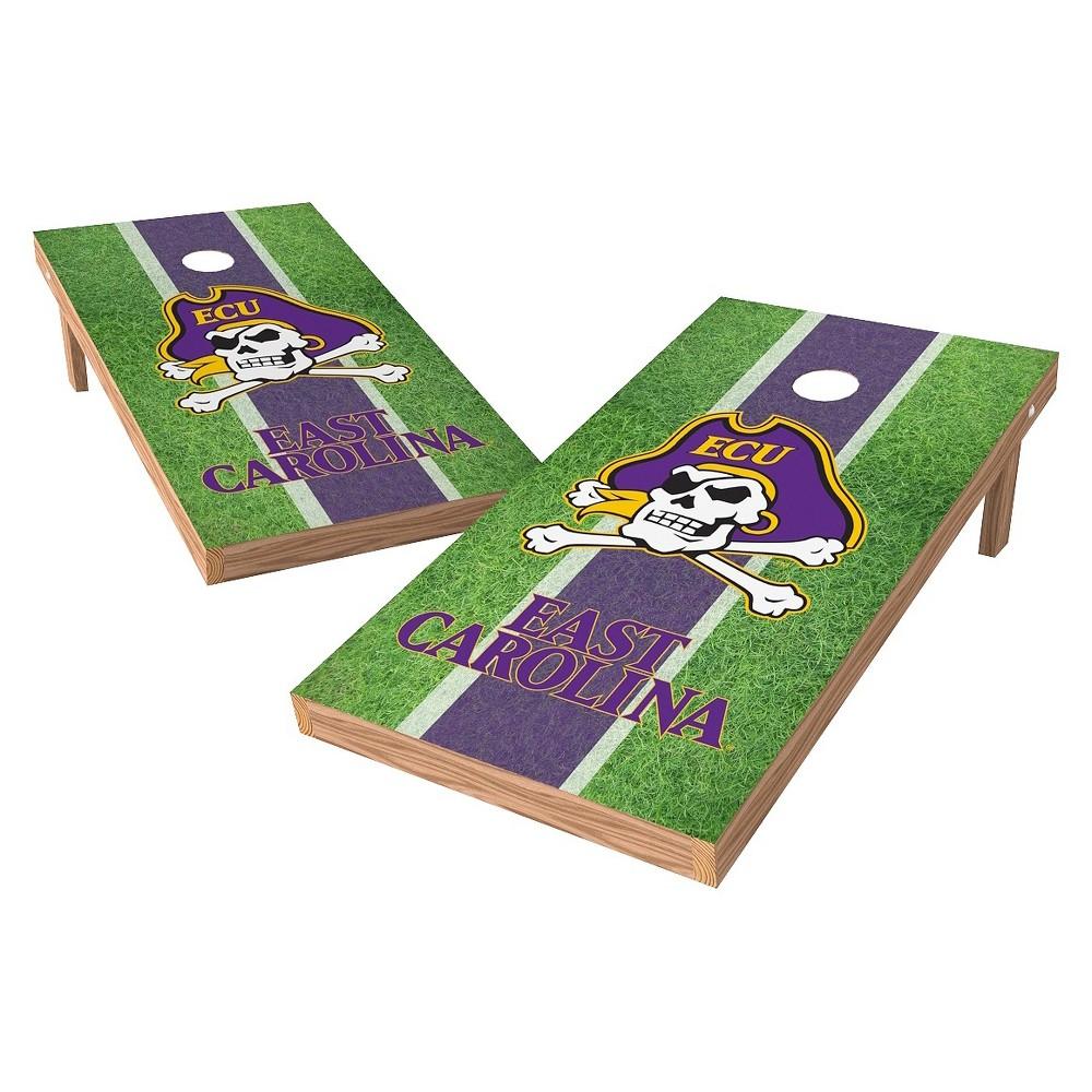 East Carolina Pirates Wild Sports 2' x 4' Field Design Authentic Cornhole Set