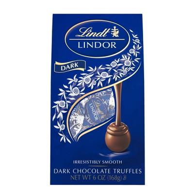 Lindt Lindor Dark Chocolate Truffles - 6oz