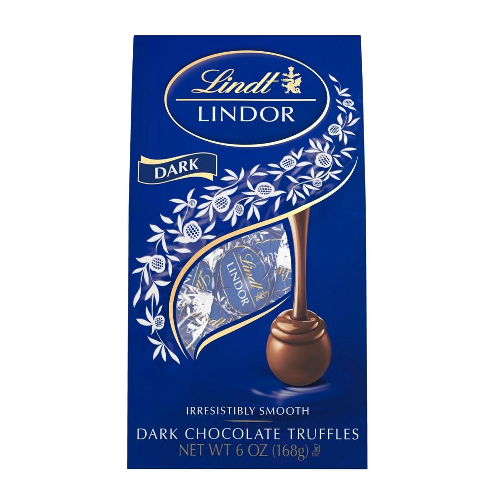 Lindt Lindor Dark Chocolate Truffles 6oz