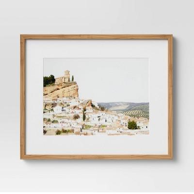 "24"" x 30"" European Hillside Framed Wall Art - Threshold™"