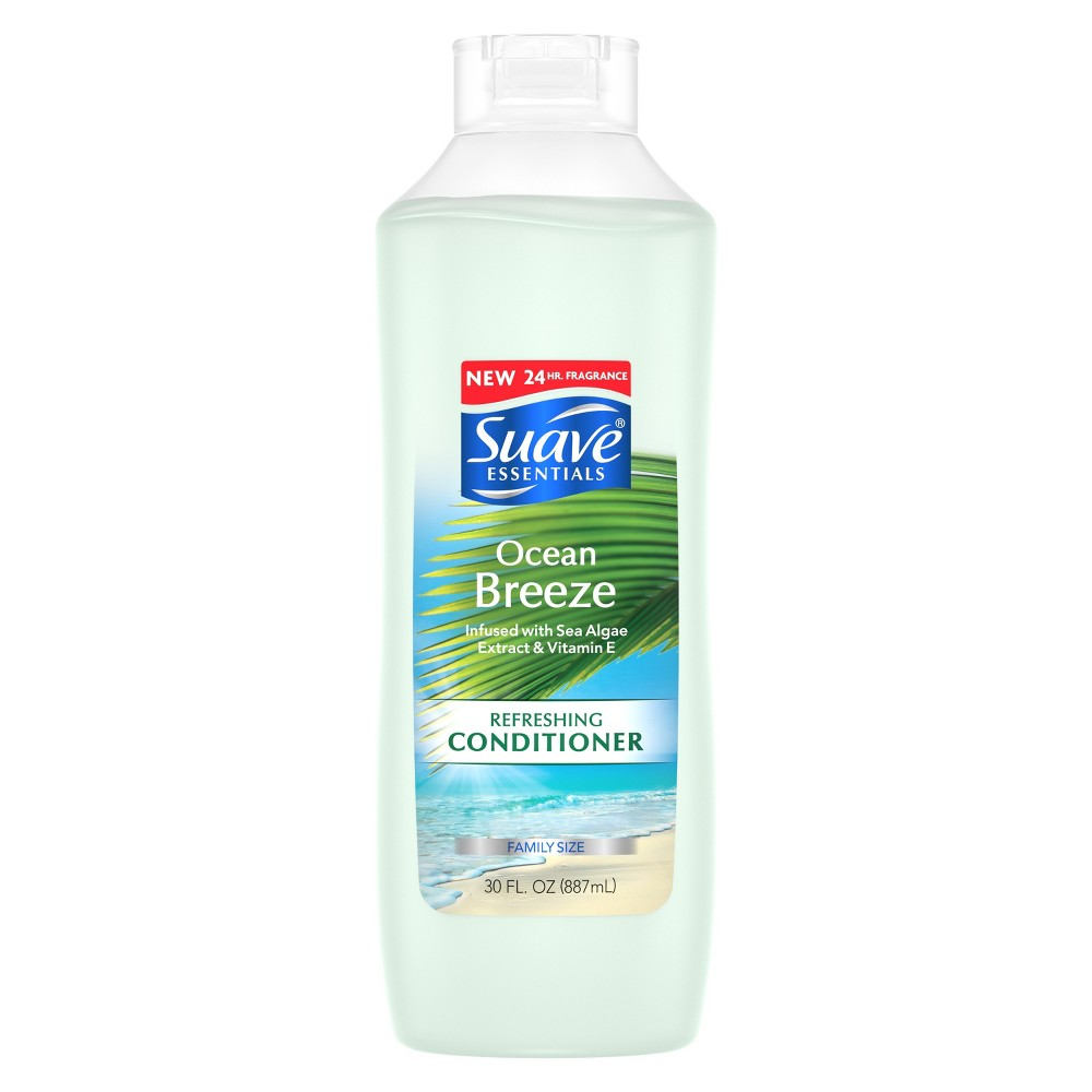 Suave Essentials Ocean Breeze Conditioner - 30 fl oz