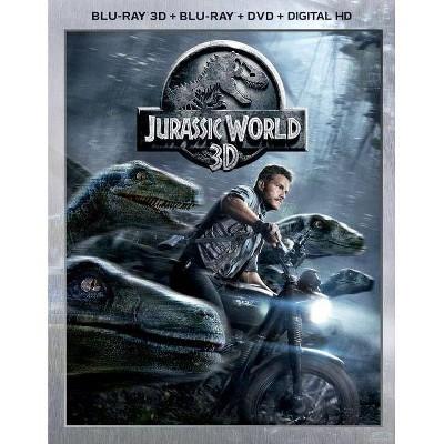 Jurassic World (3D) (Blu-ray + DVD + Digital)