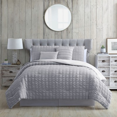 Modern Threads 5-Piece Seersucker Comforter Set.