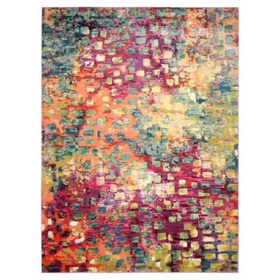 Sasha Area Rug - Pink/Multi (9'x12')- Safavieh®