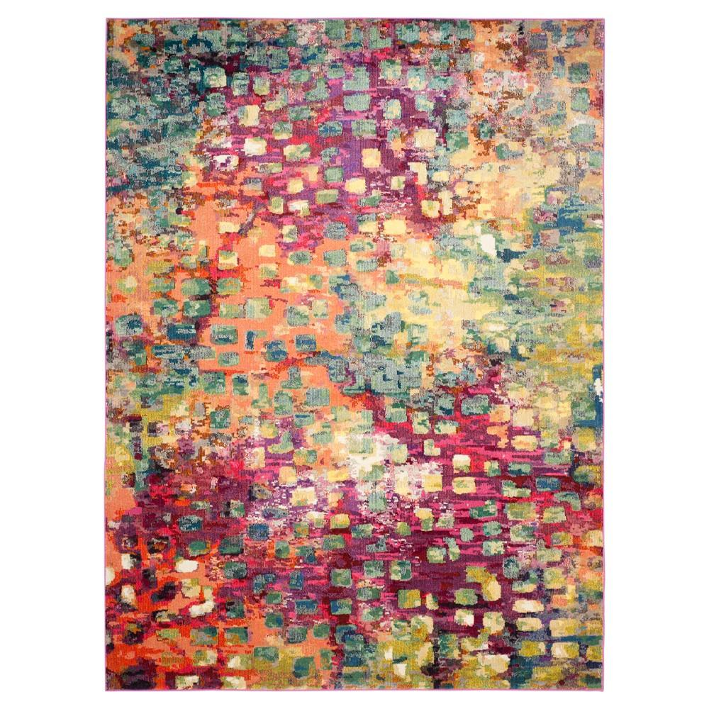 Sasha Area Rug - Pink/Multi (9'x12') - Safavieh, Pink/Mutli-Colored/Purple