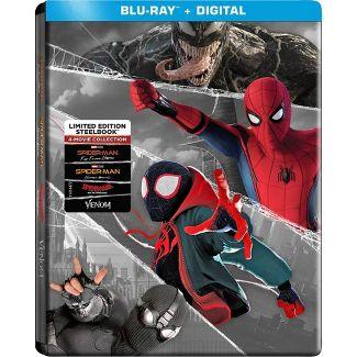 Spider-Man Super Steelbook (Blu-Ray + Digital)