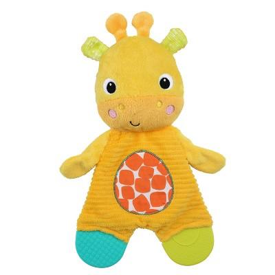 Bright Starts Bright Starts Snuggle & Teethe Plush Teether - Giraffe