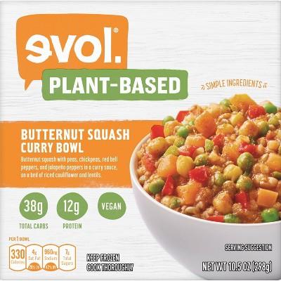 Evol Frozen Butternut Squash Curry Bowl - 10.5oz