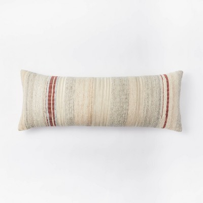 Oversized Woven Lumbar Pillow - Threshold™ designed with Studio McGee
