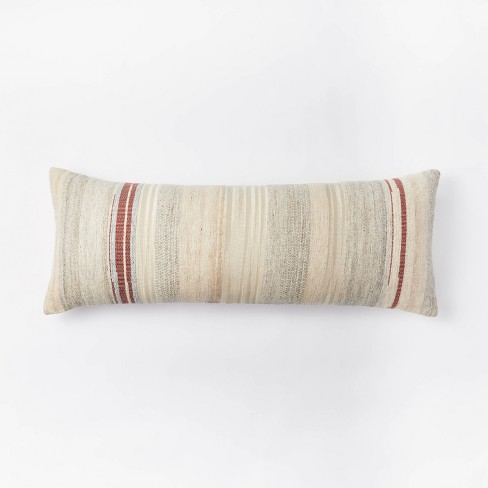 Oversized Woven Lumbar Pillow - Threshold™ designed with Studio McGee - image 1 of 4