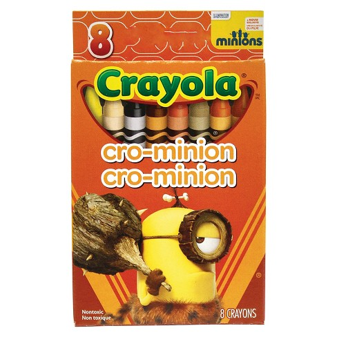 Crayola 8ct Minions Crayons- CroMinion - image 1 of 1