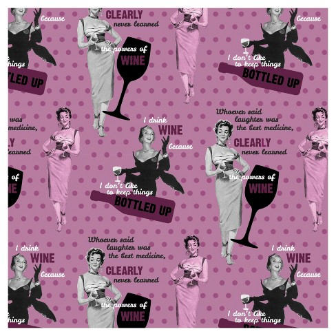 The Powers Of Wine Fabric by the Yard - image 1 of 1
