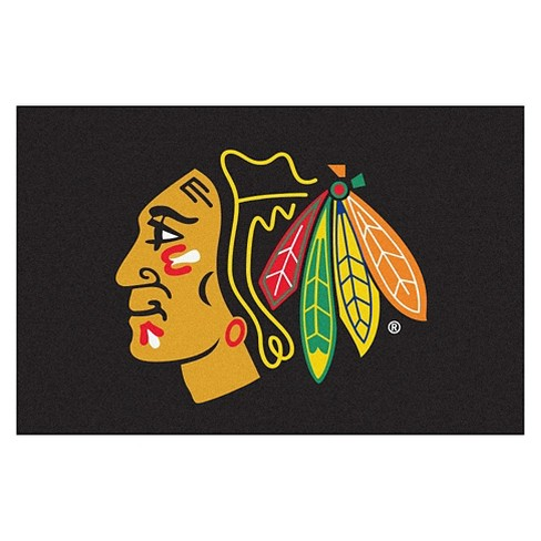 "Chicago Blackhawks Fanmats® Accent Rug - 18""x30"" - image 1 of 1"