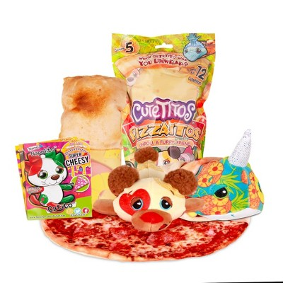 Cutetitos Pizzaitos – Surprise Stuffed Animals - Collectible Plush – Series 5