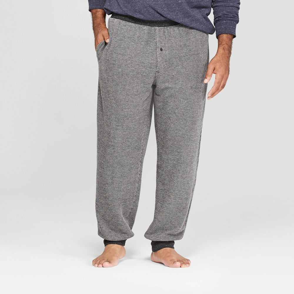 Men's Big & Tall French Terry Jogger Pajama Pants - Goodfellow & Co Light Gray 5XBT