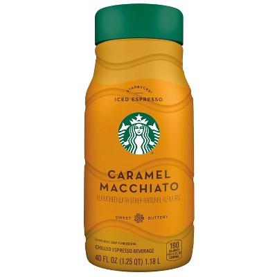 Starbucks Caramel Macchiato Chilled Espresso Beverage - 40 fl oz