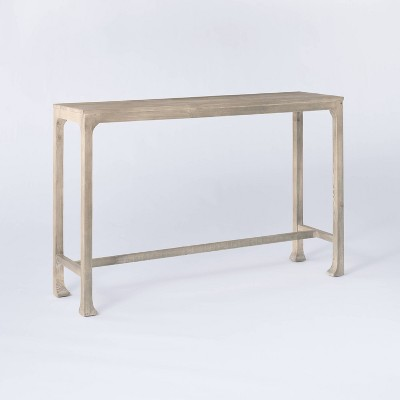 Belmont Shore Curved Foot Console Table Knock Down Natural - Threshold™ designed with Studio McGee