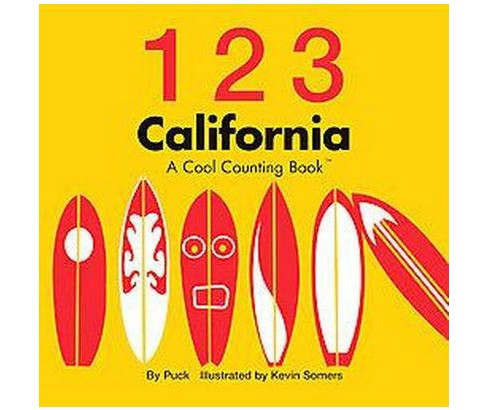 1 2 3 California A Cool Counting Book Hardcover Target