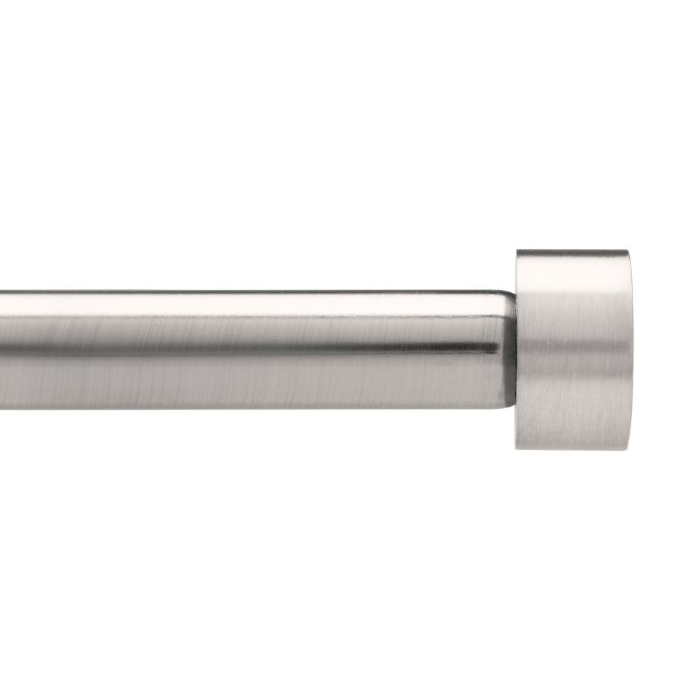 Umbra Cappa Drapery Rod Set Silver 36-72