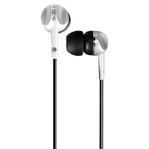 iHome Colortune Noise Isolating Earbuds - Silver - image 1 of 1